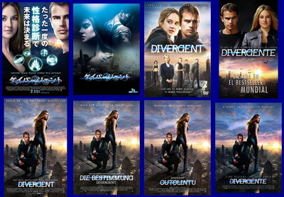 映画『ダイバージェント (2014) DIVERGENT』ポスター(3)▼ポスター画像クリックで拡大します。