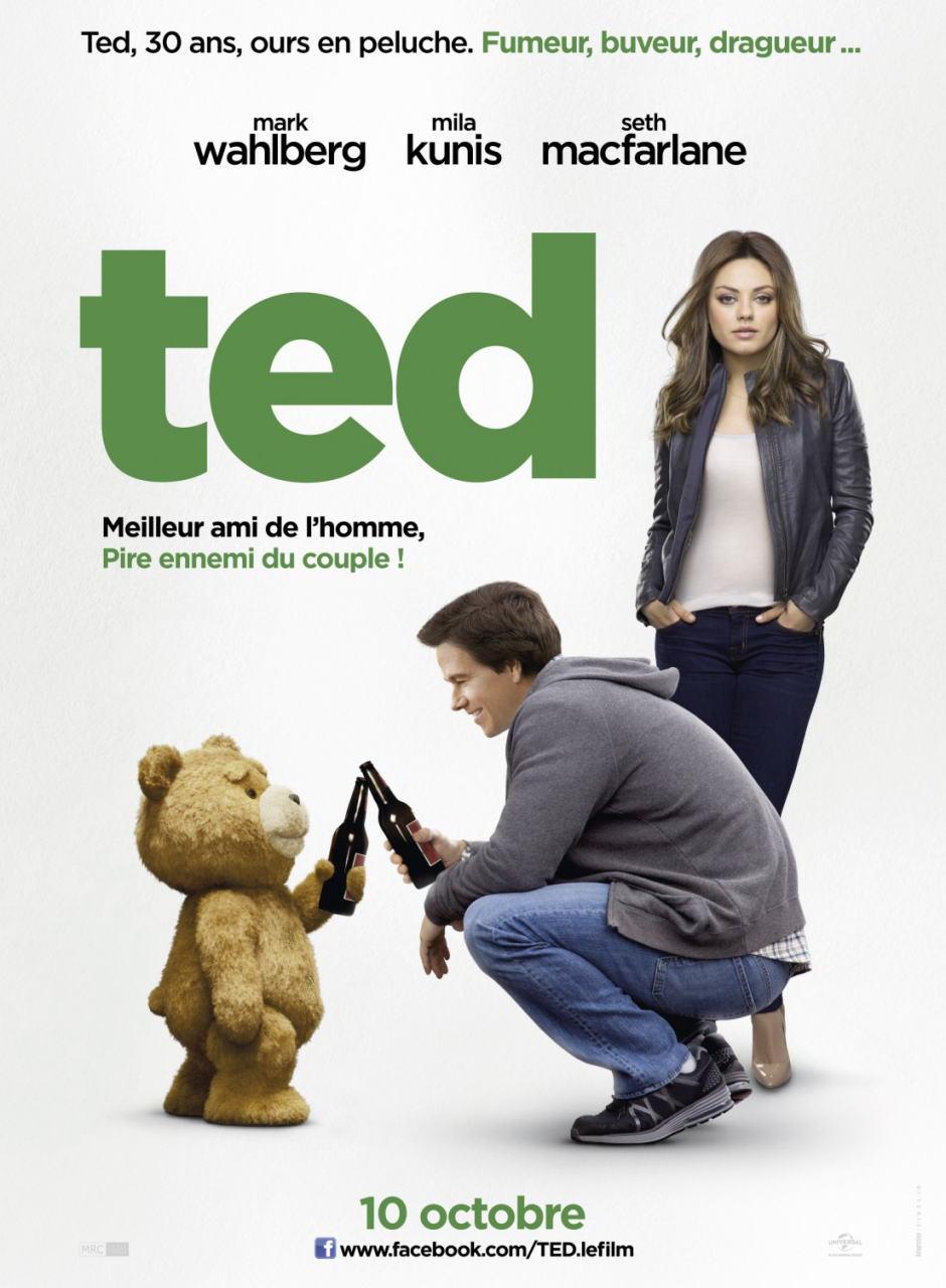 映画『テッド TED』ポスター(6)▼ポスター画像クリックで拡大します。