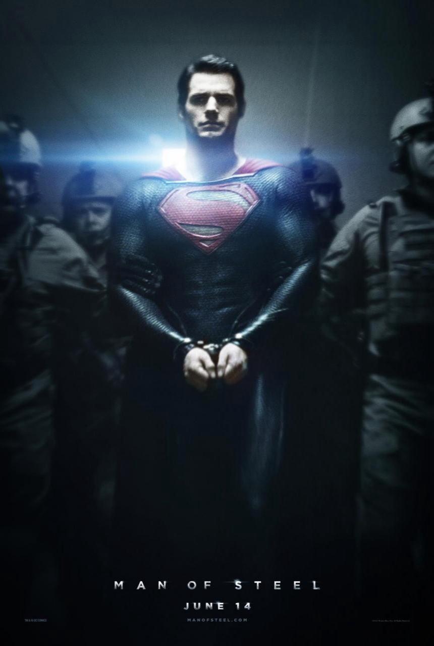 映画『マン・オブ・スティール (2013) MAN OF STEEL』ポスター(2)▼ポスター画像クリックで拡大します。
