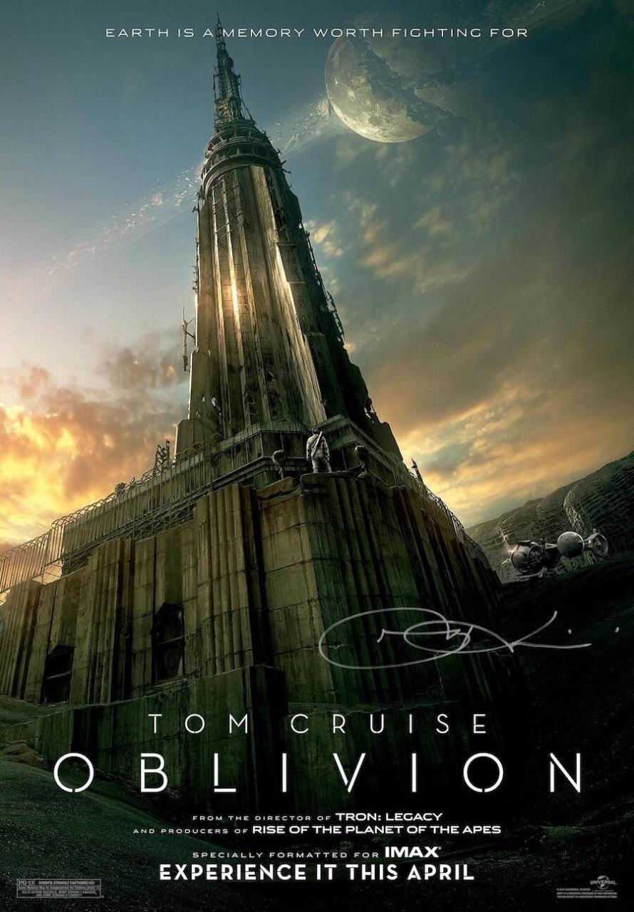 映画『オブリビオン (2013) OBLIVION』ポスター(2)▼ポスター画像クリックで拡大します。