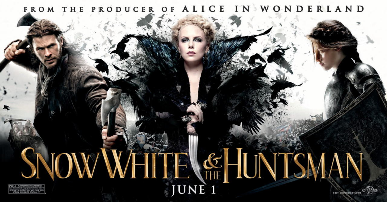 映画『スノーホワイト SNOW WHITE AND THE HUNTSMAN』ポスター(7)▼ポスター画像クリックで拡大します。