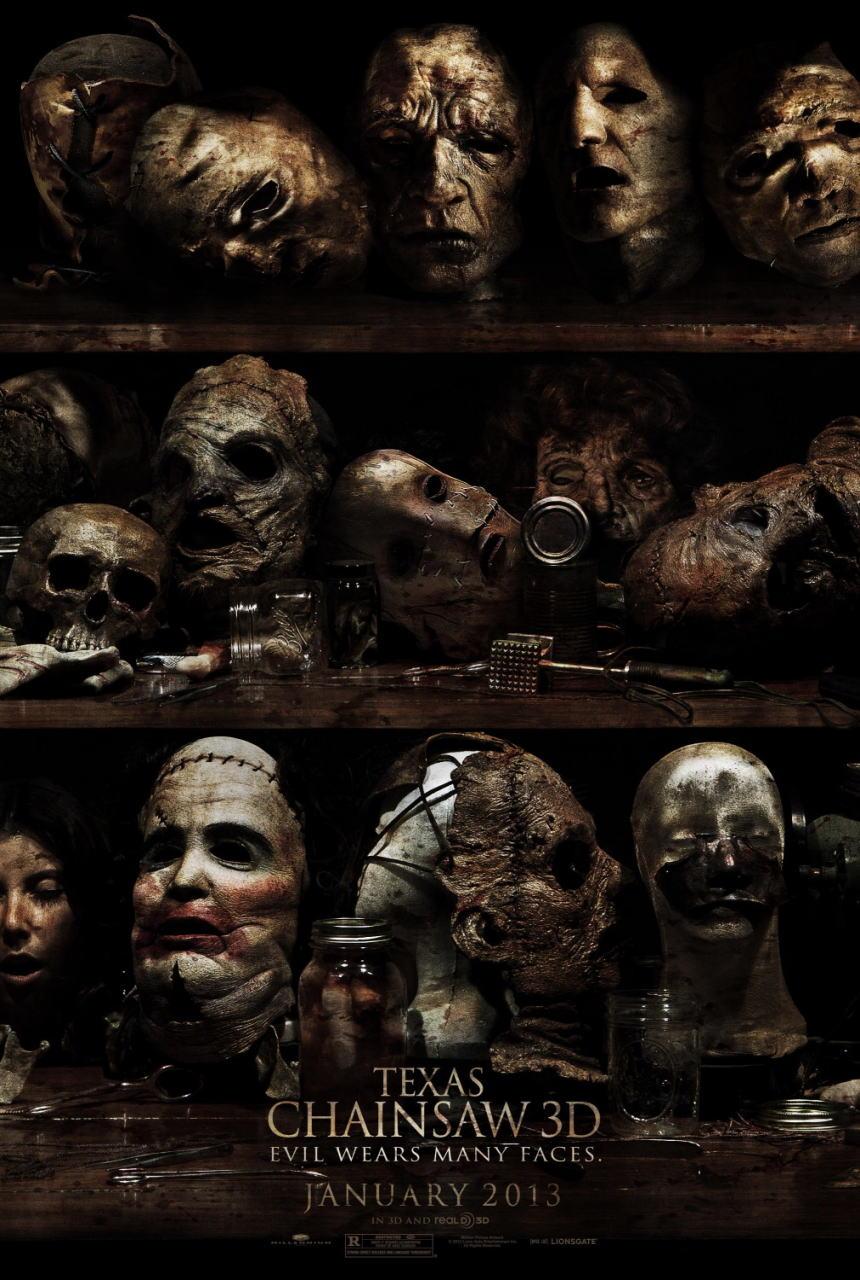 映画『飛びだす 悪魔のいけにえ レザーフェイス一家の逆襲 TEXAS CHAINSAW 3D』ポスター(2)▼ポスター画像クリックで拡大します。