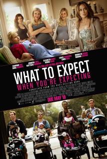 映画『 恋愛だけじゃダメかしら? (2012) WHAT TO EXPECT WHEN YOU'RE EXPECTING 』ポスター