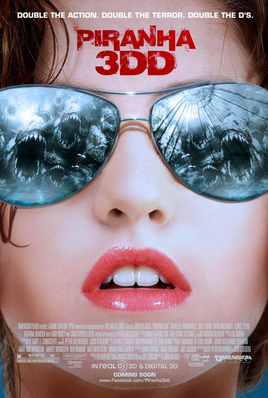 映画『ピラニア リターンズ PIRANHA 3DD』ポスター(2) ▼ポスター画像クリックで拡大します。