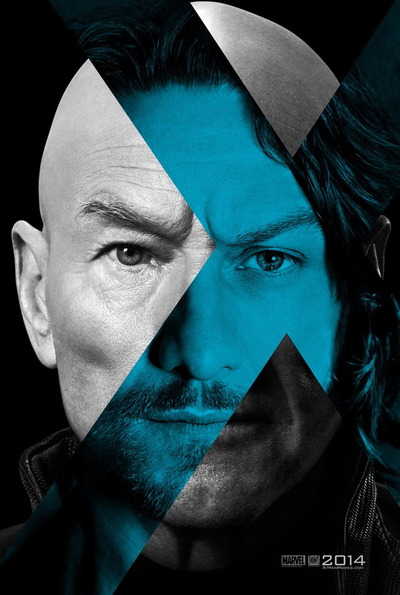 映画『X-MEN:フューチャー&パスト (2014) X-MEN: DAYS OF FUTURE PAST』ポスター(2) ▼ポスター画像クリックで拡大します。