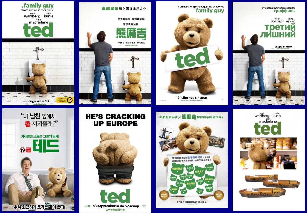 映画『テッド TED』ポスター(8)▼ポスター画像クリックで拡大します。