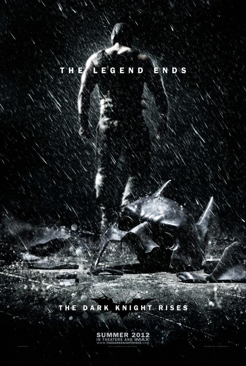 映画『ダークナイト ライジング THE DARK KNIGHT RISES』ポスター(2)▼ポスター画像クリックで拡大します。