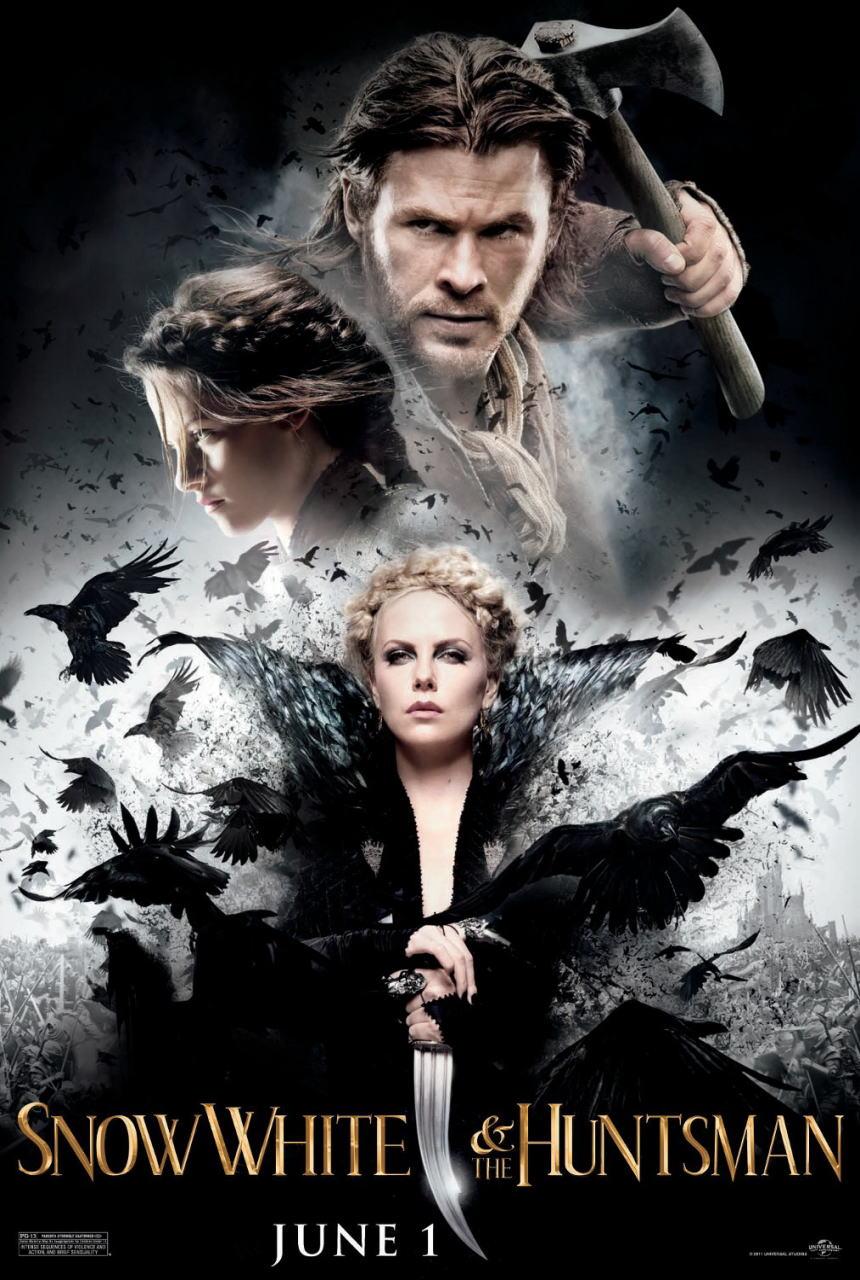 映画『スノーホワイト SNOW WHITE AND THE HUNTSMAN』ポスター(2) ▼ポスター画像クリックで拡大します。