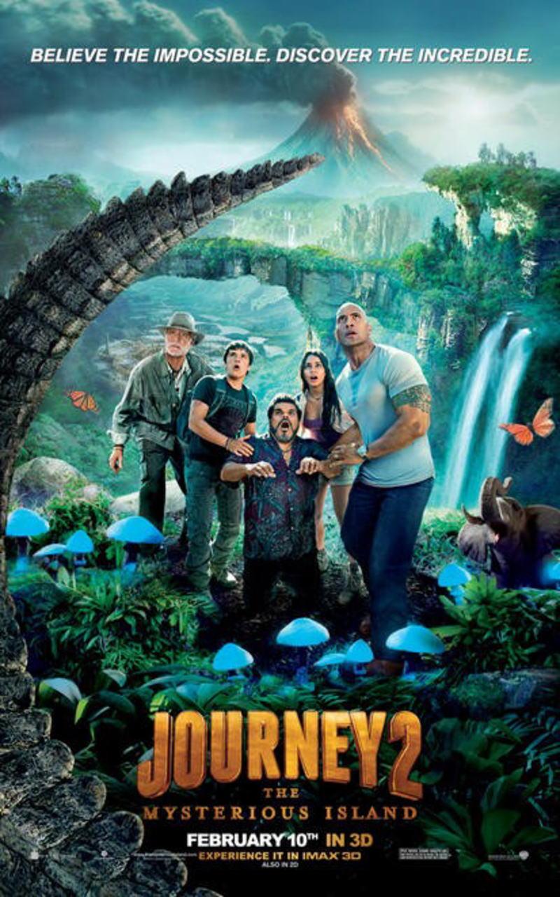映画『センター・オブ・ジ・アース2 神秘の島 JOURNEY 2: THE MYSTERIOUS ISLAND』ポスター(5)