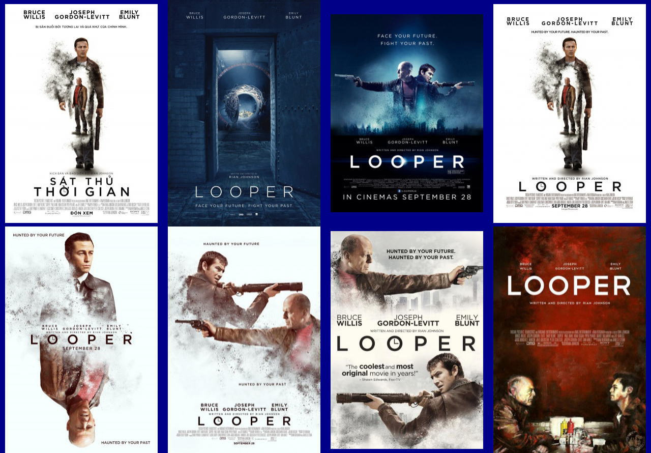 映画『LOOPER/ルーパー LOOPER』ポスター(10)▼ポスター画像クリックで拡大します。
