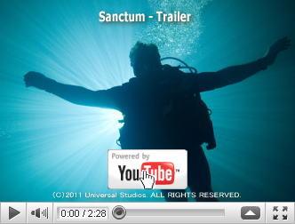 ※クリックでYouTube『サンクタム SANCTUM』予告編へ