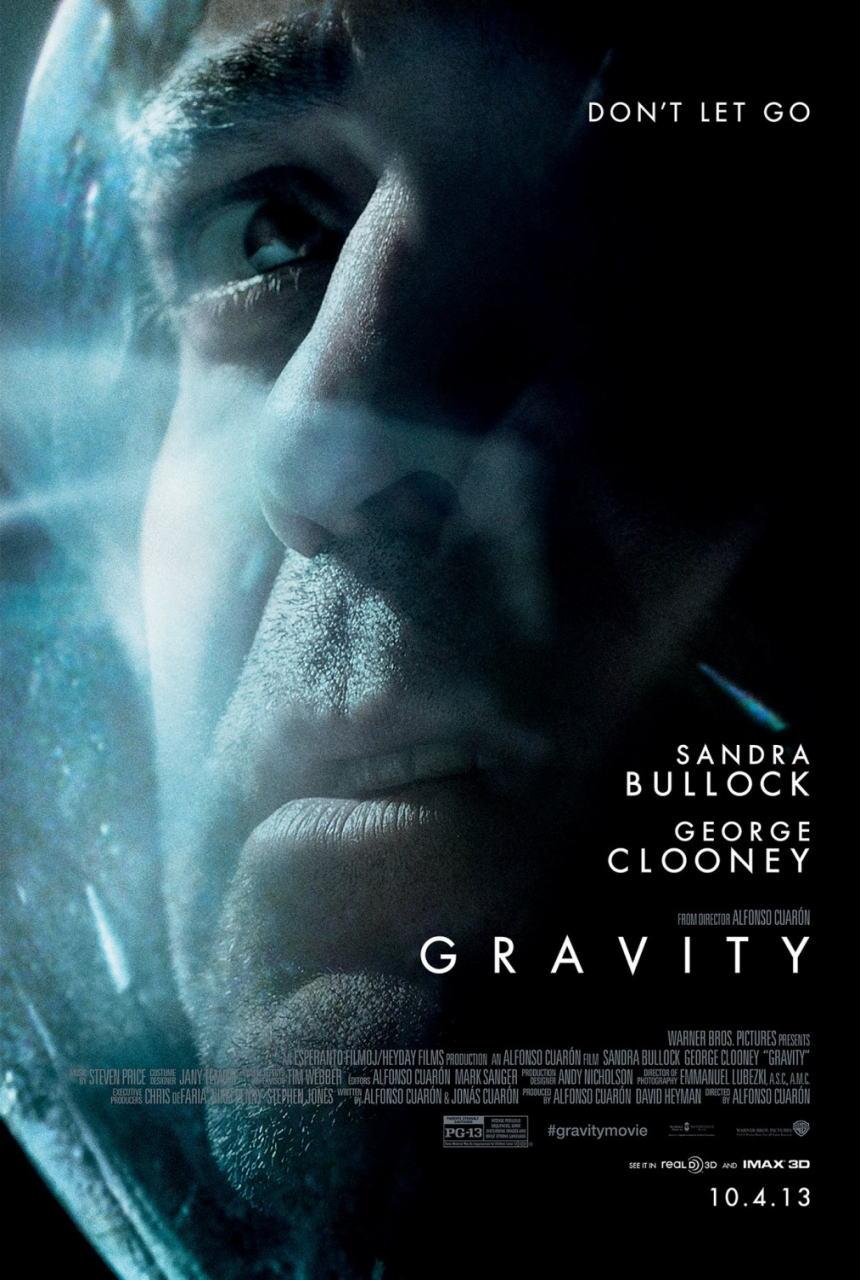 映画『ゼロ・グラビティ (2013) GRAVITY』ポスター(3) ▼ポスター画像クリックで拡大します。
