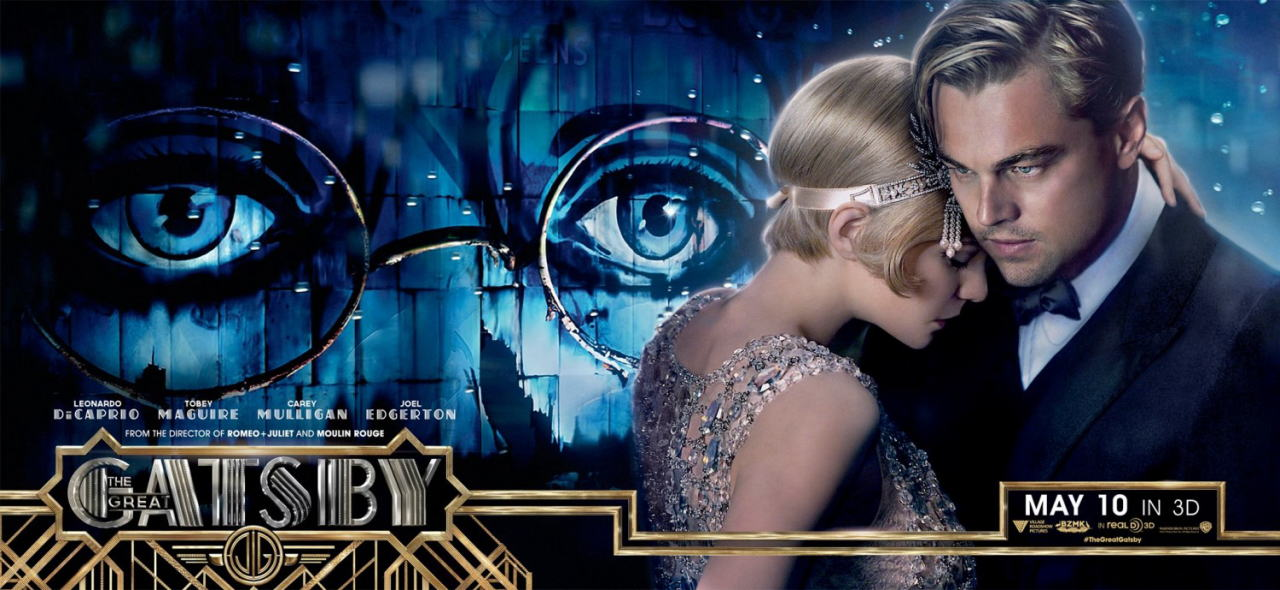 映画『華麗なるギャツビー (2013) THE GREAT GATSBY』ポスター(6) ▼ポスター画像クリックで拡大します。