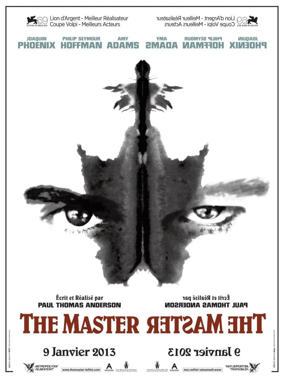 映画『ザ・マスター THE MASTER』ポスター(5)▼ポスター画像クリックで拡大します。