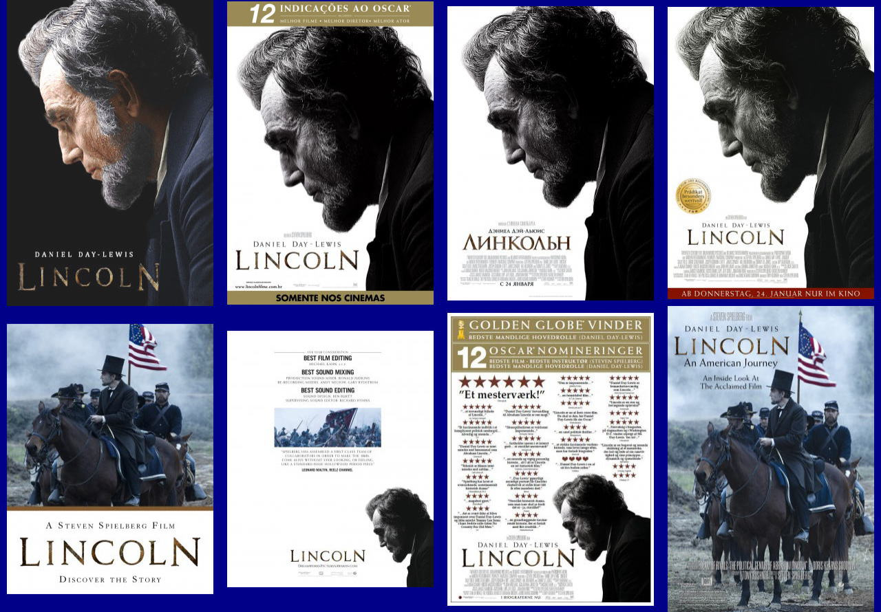 映画『リンカーン (2012) LINCOLN』ポスター(5)▼ポスター画像クリックで拡大します。