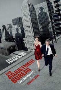映画『 アジャストメント (2011) THE ADJUSTMENT BUREAU 』ポスター