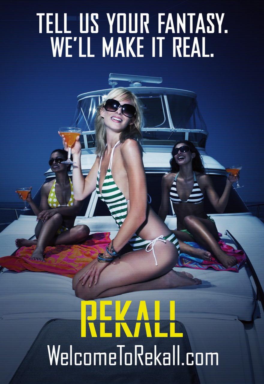 映画『トータル・リコール TOTAL RECALL』ポスター(8)▼ポスター画像クリックで拡大します。