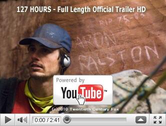 ※クリックでYouTube『127時間 127 HOURS』予告編へ