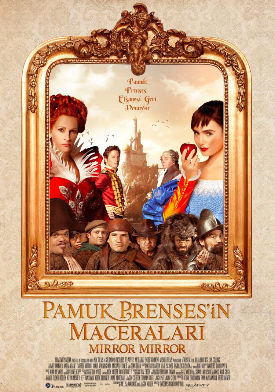 映画『白雪姫と鏡の女王 MIRROR MIRROR』ポスター(6)▼ポスター画像クリックで拡大します。