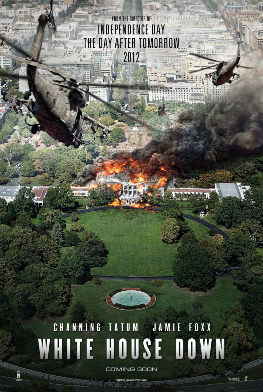 映画『ホワイトハウス・ダウン (2013) WHITE HOUSE DOWN』ポスター(3) ▼ポスター画像クリックで拡大します。