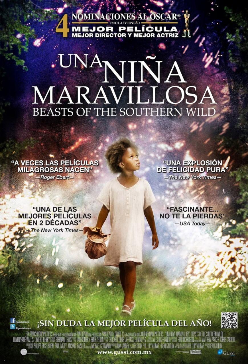 映画『ハッシュパピー 〜バスタブ島の少女〜 BEASTS OF THE SOUTHERN WILD』ポスター(3)▼ポスター画像クリックで拡大します。