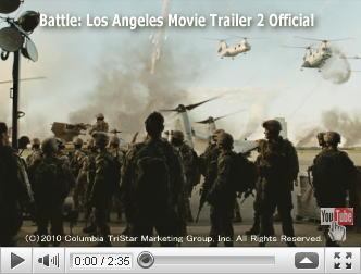 ※クリックでYouTube『世界侵略:ロサンゼルス決戦 BATTLE: LOS ANGELES』予告編へ
