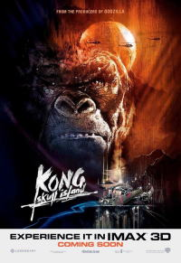 キングコング:髑髏島の巨神ポスター05画像 ▼画像クリックで拡大します@映画の森てんこ森