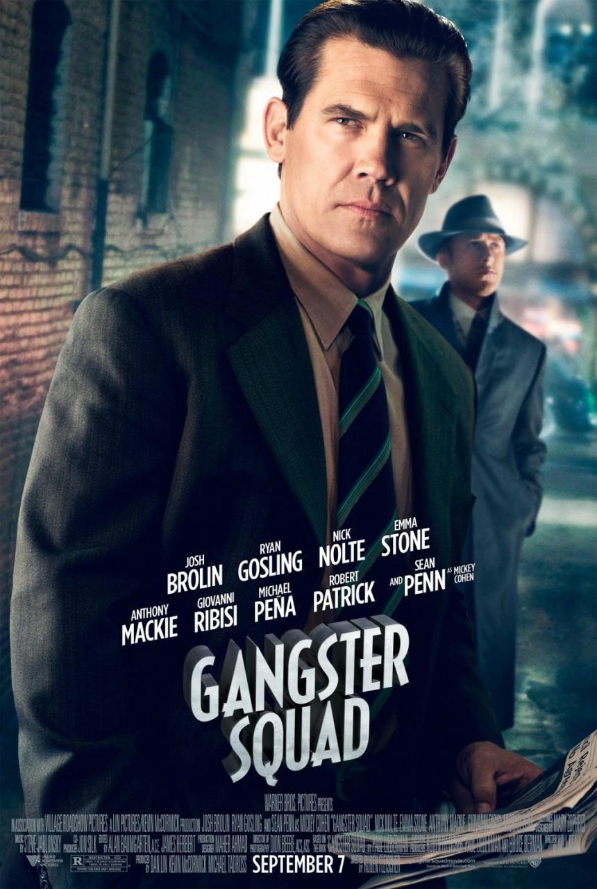 映画『L.A. ギャング ストーリー (2012) GANGSTER SQUAD』ポスター(3) ▼ポスター画像クリックで拡大します。