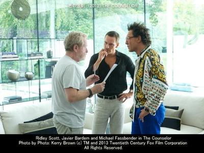 悪の法則のスタッフ画像(リドリー・スコット Ridley Scott 監督(左))▼画像クリックで640x480pxlsに拡大します。