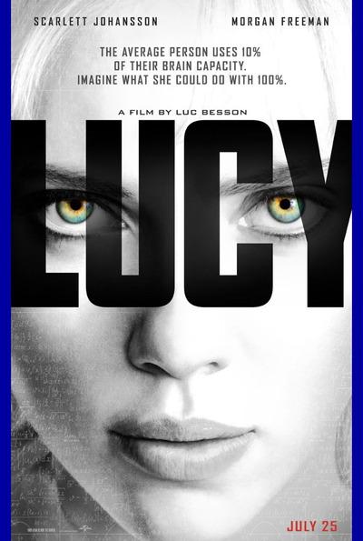 映画『LUCY/ルーシー (2014) LUCY』ポスター(1) ▼ポスター画像クリックで拡大します。