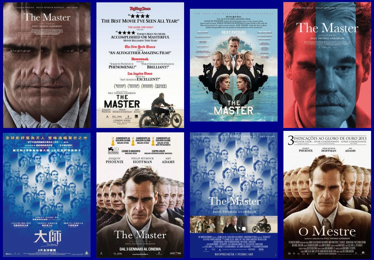 映画『ザ・マスター THE MASTER』ポスター(7)▼ポスター画像クリックで拡大します。
