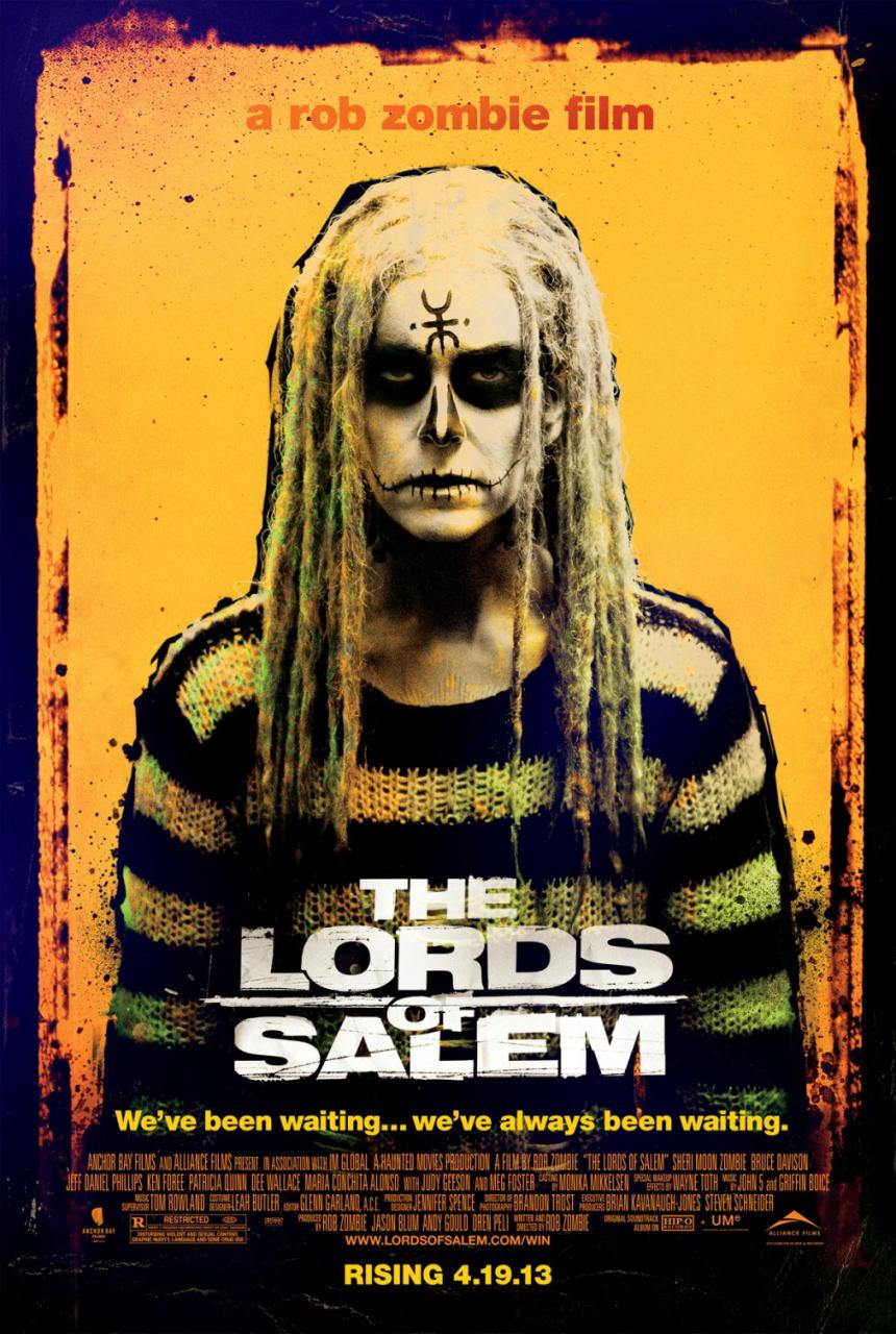 映画『ロード・オブ・セイラム (2012) THE LORDS OF SALEM』ポスター(1)▼ポスター画像クリックで拡大します。