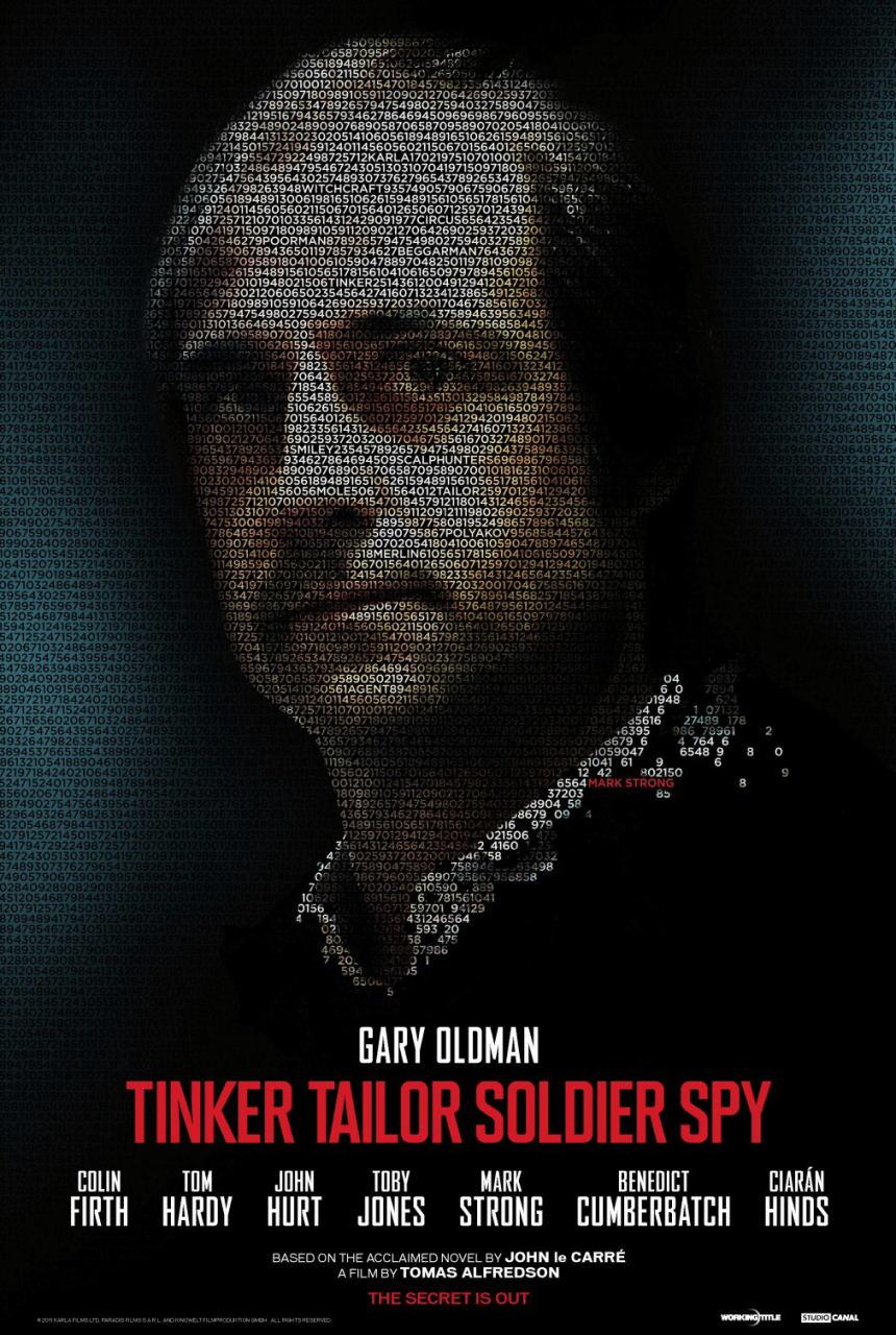映画『裏切りのサーカス TINKER TAILOR SOLDIER SPY』ポスター(6) ▼ポスター画像クリックで拡大します。