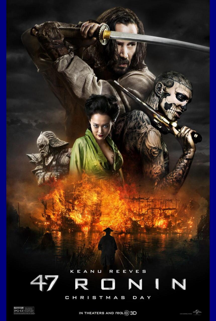 映画『47RONIN (2013) 47 RONIN』ポスター(1) ▼ポスター画像クリックで拡大します。
