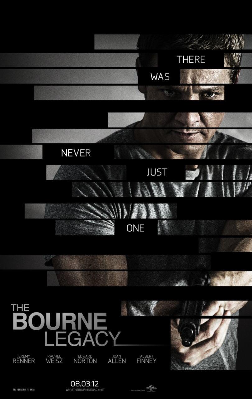 映画『ボーン・レガシー THE BOURNE LEGACY』ポスター(1)▼ポスター画像クリックで拡大します。