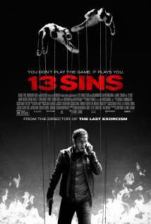 映画『 13の選択 (2014) 13 SINS 』ポスター