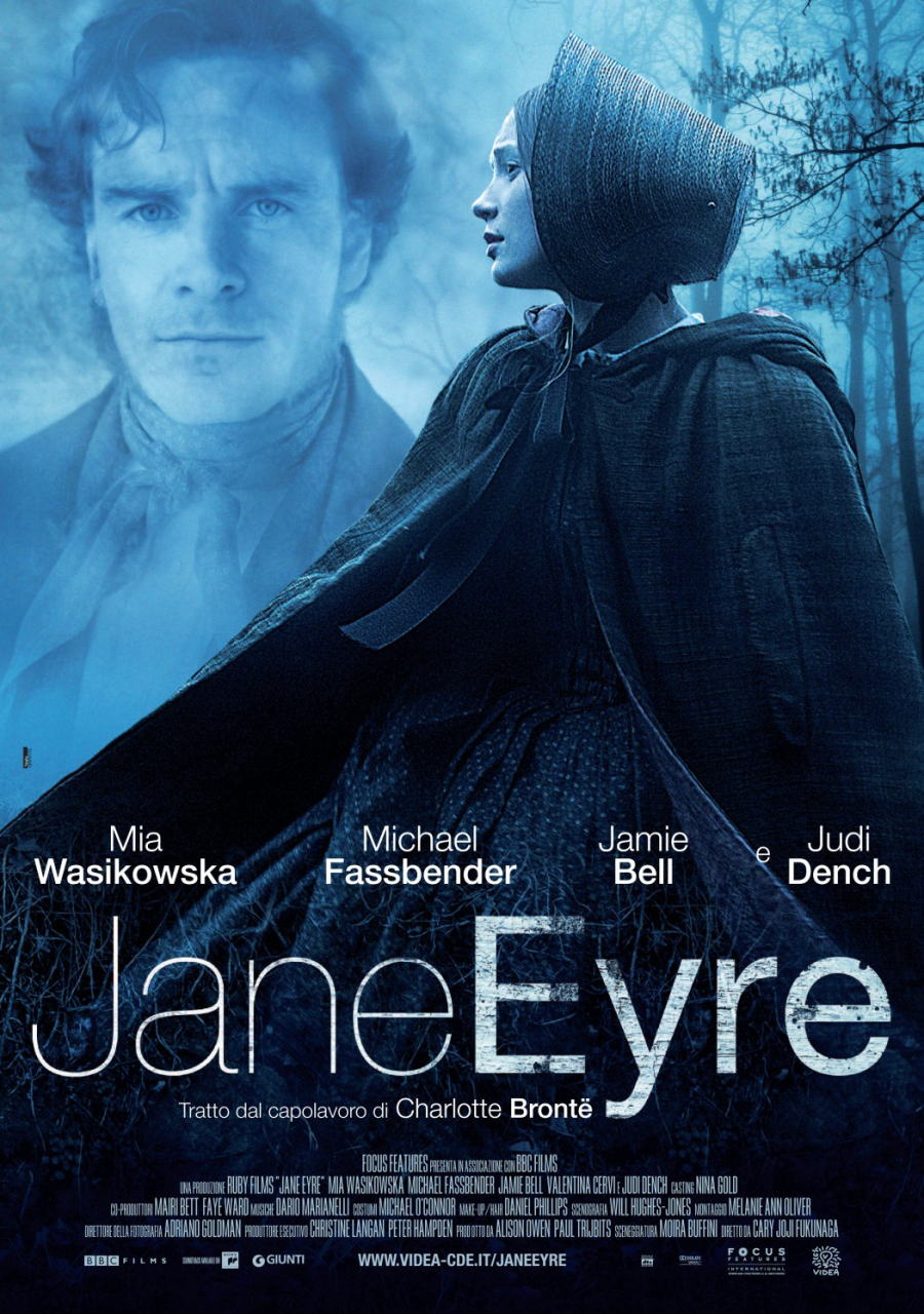 映画『ジェーン・エア JANE EYRE』ポスター(3)▼ポスター画像クリックで拡大します。