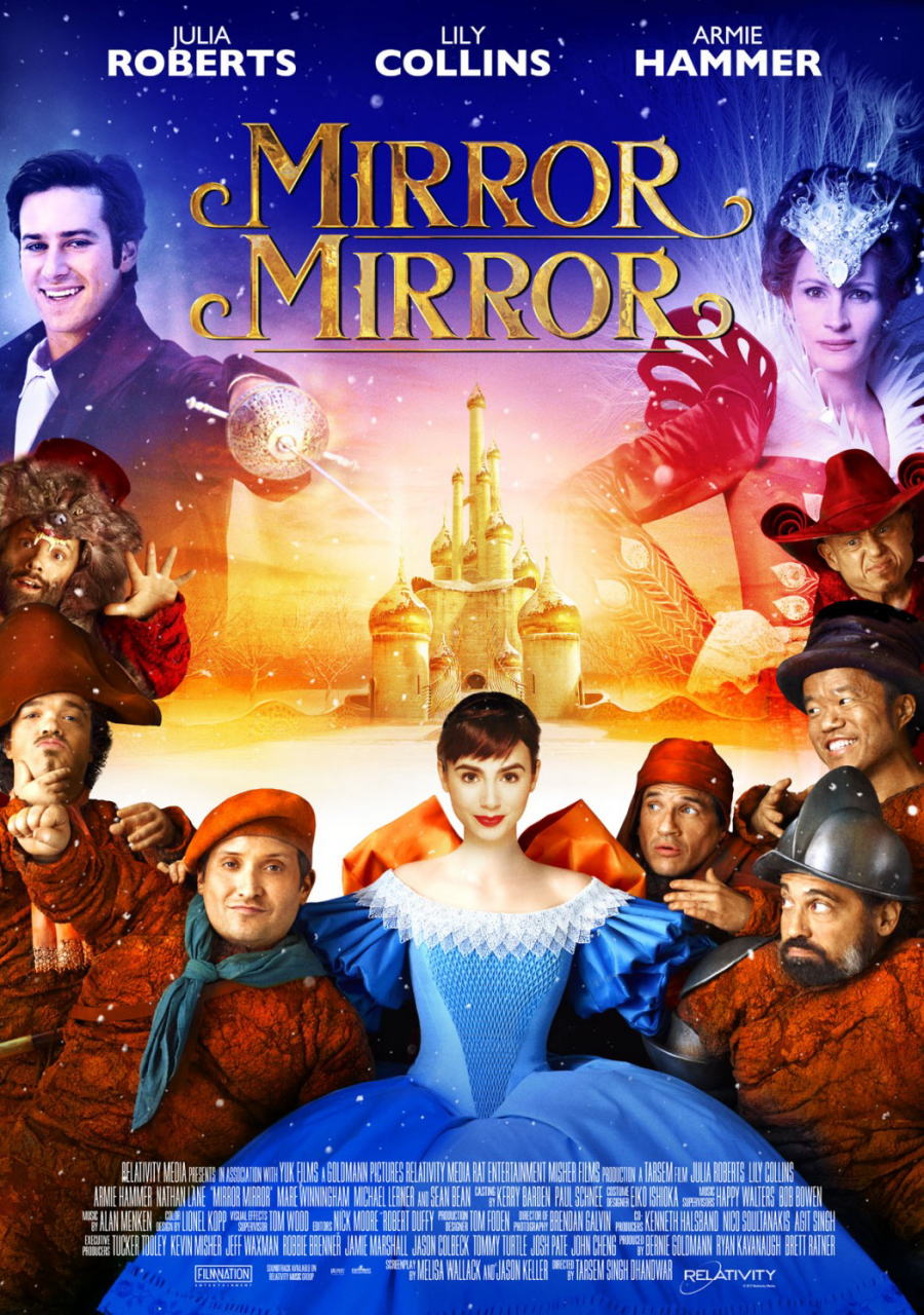映画『白雪姫と鏡の女王 MIRROR MIRROR』ポスター(4) ▼ポスター画像クリックで拡大します。