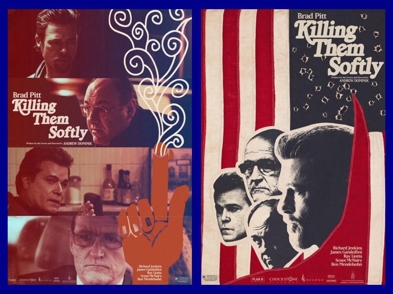 映画『ジャッキー・コーガン KILLING THEM SOFTLY』ポスター(6)▼ポスター画像クリックで拡大します。