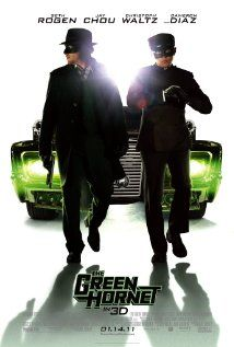 映画『 グリーン・ホーネット (2011) THE GREEN HORNET 』ポスター
