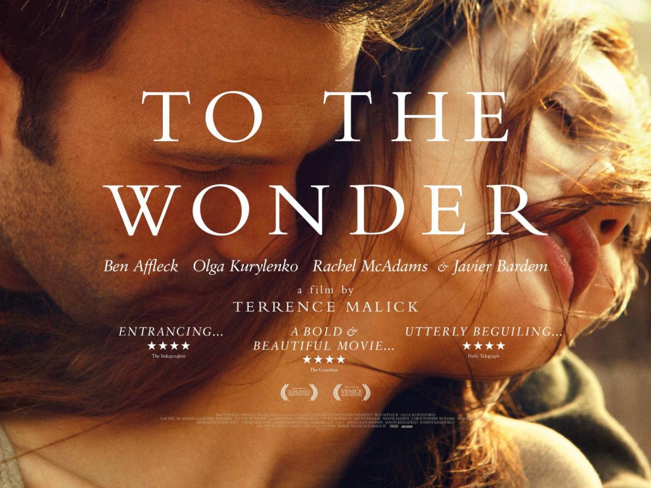 映画『トゥ・ザ・ワンダー TO THE WONDER』ポスター(4)▼ポスター画像クリックで拡大します。