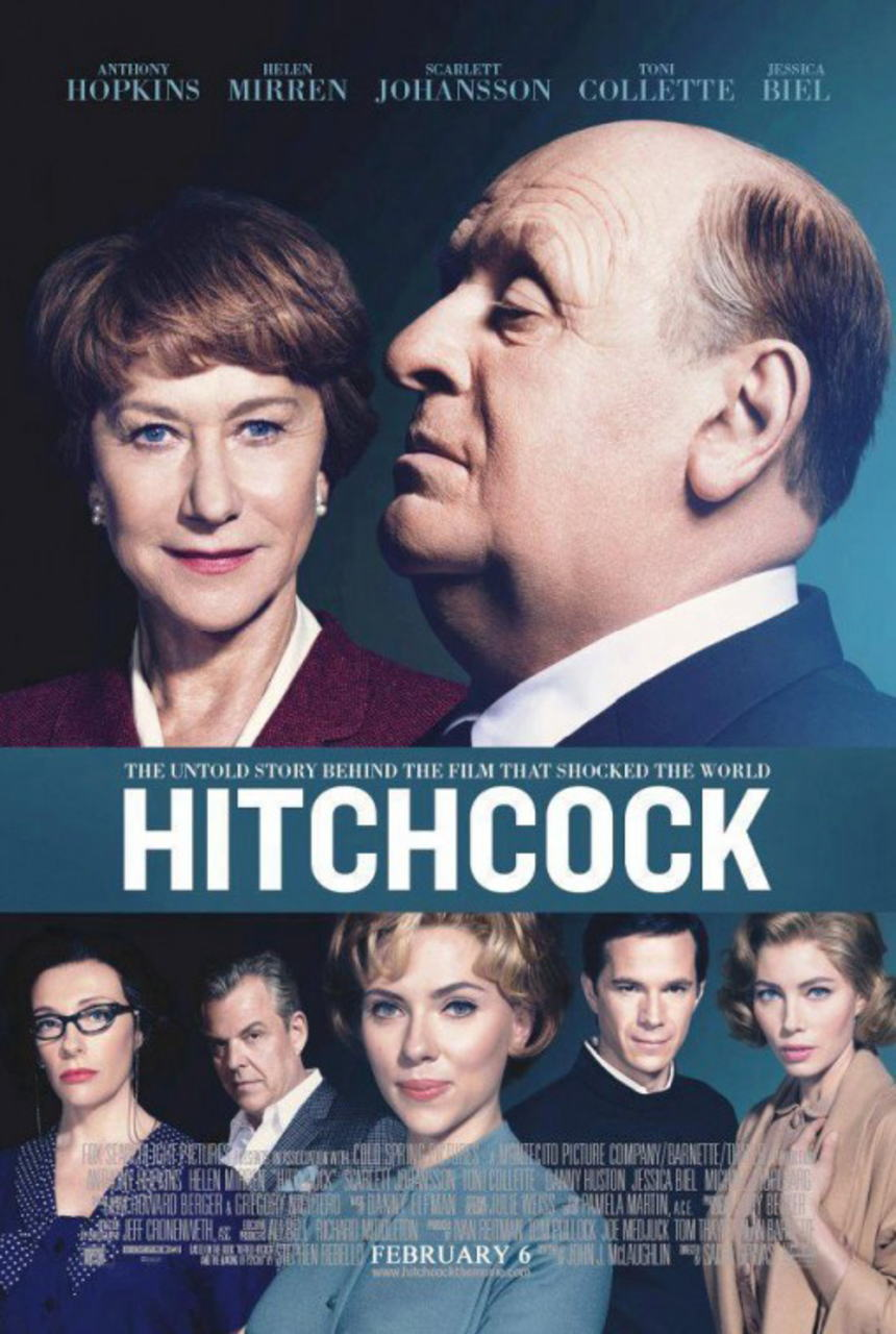映画『ヒッチコック HITCHCOCK』ポスター(4)▼ポスター画像クリックで拡大します。