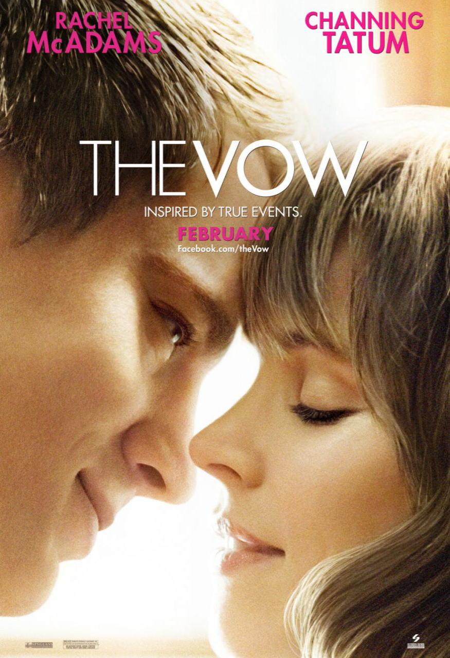 映画『君への誓い THE VOW』ポスター(1)▼ポスター画像クリックで拡大します。
