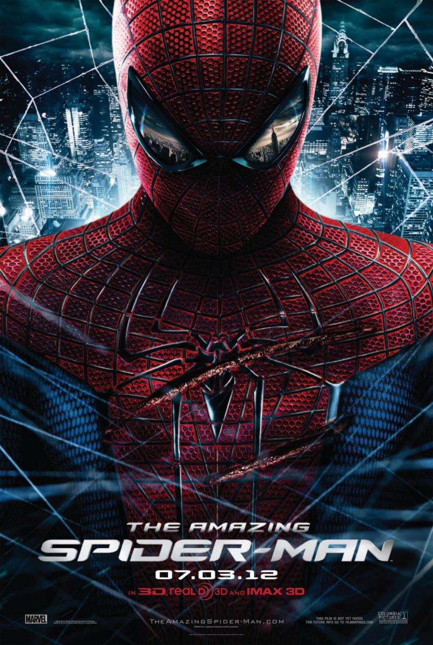 映画『アメイジング・スパイダーマン THE AMAZING SPIDER-MAN』ポスター(1) ▼ポスター画像クリックで拡大します。