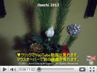 ※クリックでYouTube動画『おせち2012』へ