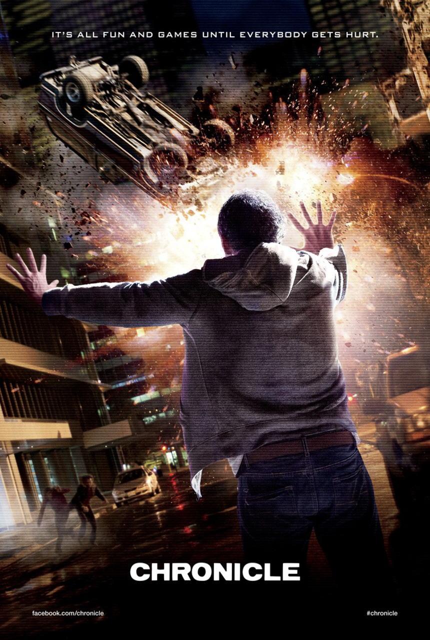 映画『クロニクル (2012) CHRONICLE』ポスター(2)▼ポスター画像クリックで拡大します。