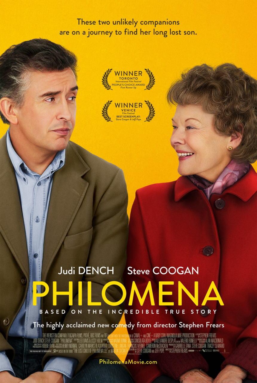 映画『あなたを抱きしめる日まで (2013) PHILOMENA』ポスター(1)▼ポスター画像クリックで拡大します。