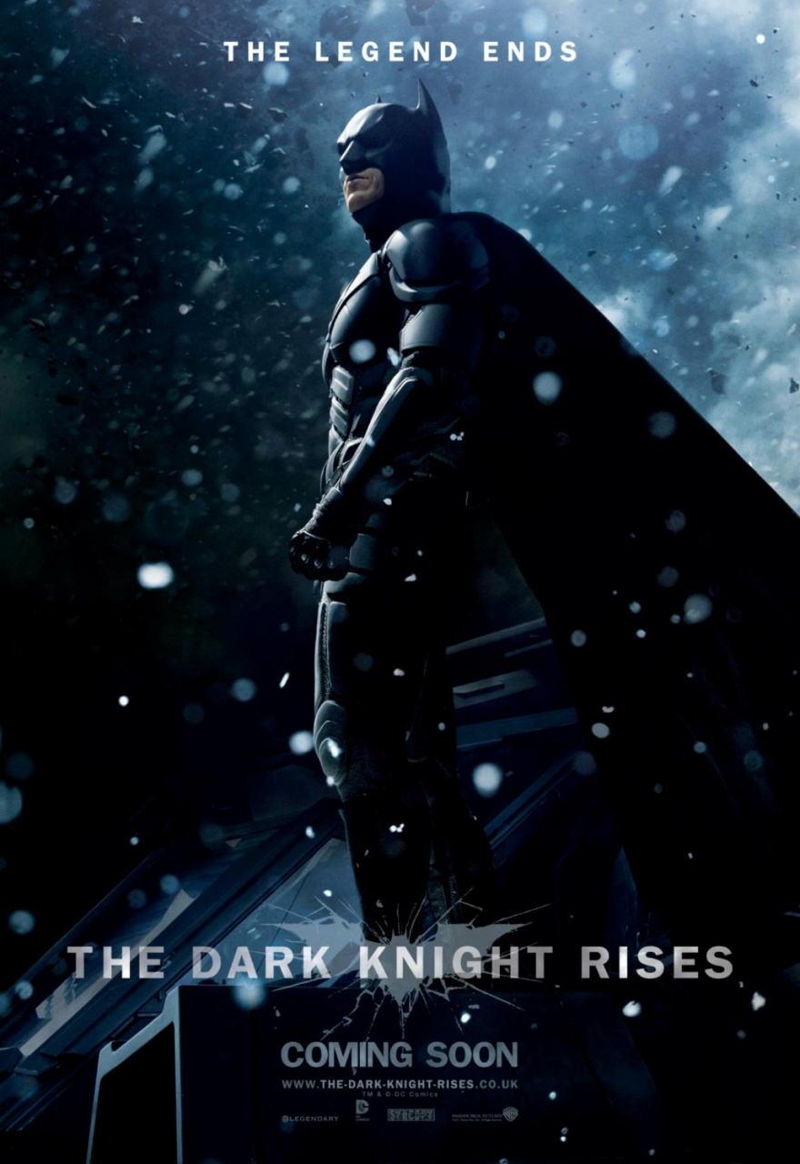 映画『ダークナイト ライジング THE DARK KNIGHT RISES』ポスター(8) ▼ポスター画像クリックで拡大します。