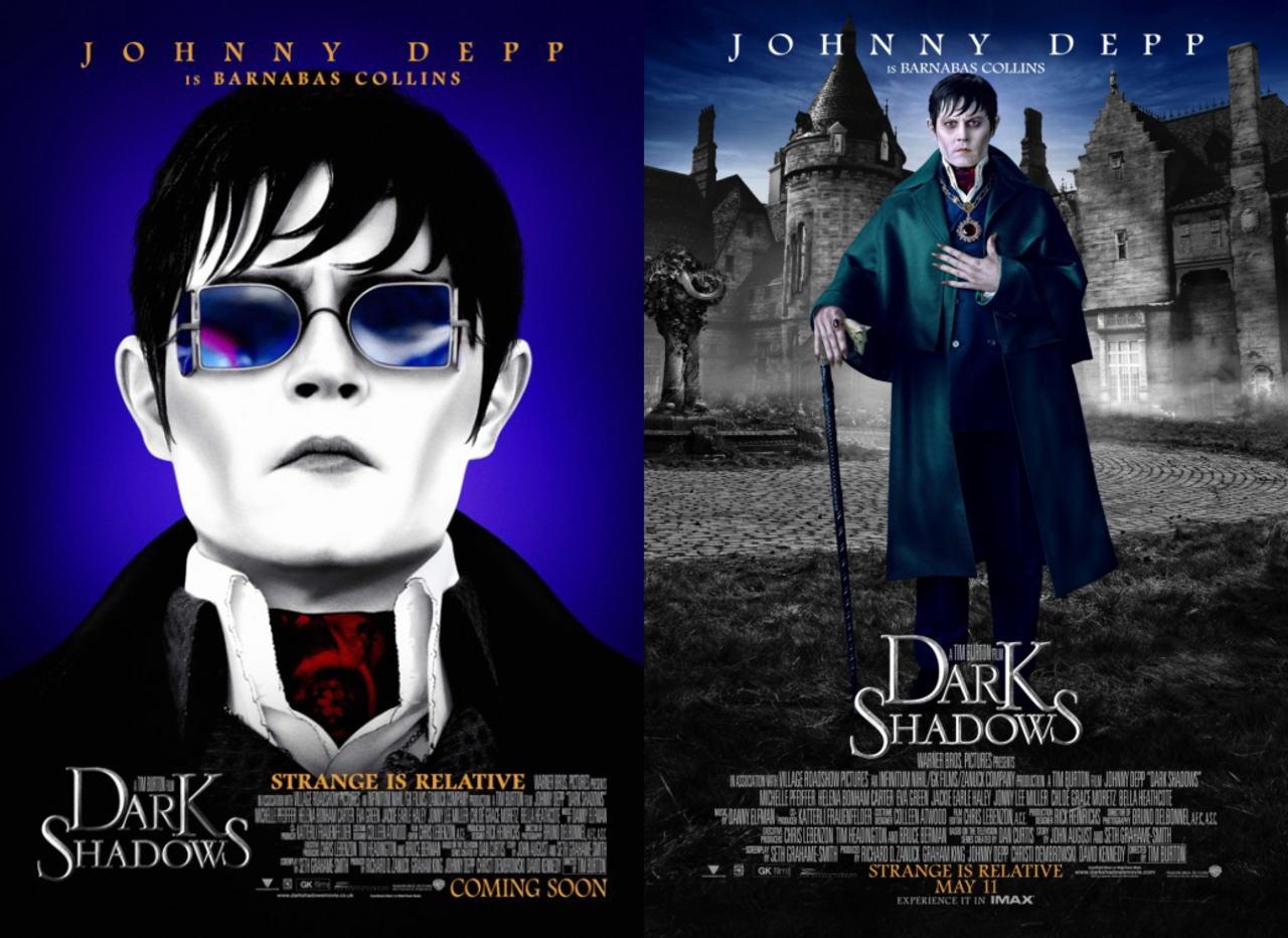 映画『ダーク・シャドウ DARK SHADOWS』ポスター(2) ▼ポスター画像クリックで拡大します。
