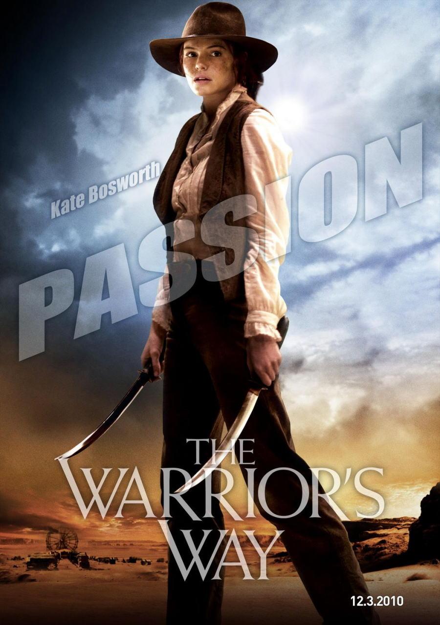 映画『決闘の大地で THE WARRIOR'S WAY』ポスター(4)▼ポスター画像クリックで拡大します。